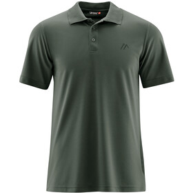 Maier Sports Ulrich Polo Homme, kombu green